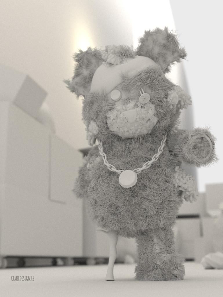 Teddy´s Revenge Clay Version Crujedesign